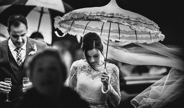 rathsallagh, house, wedding, venue, photography, bride, groom, umbrella,