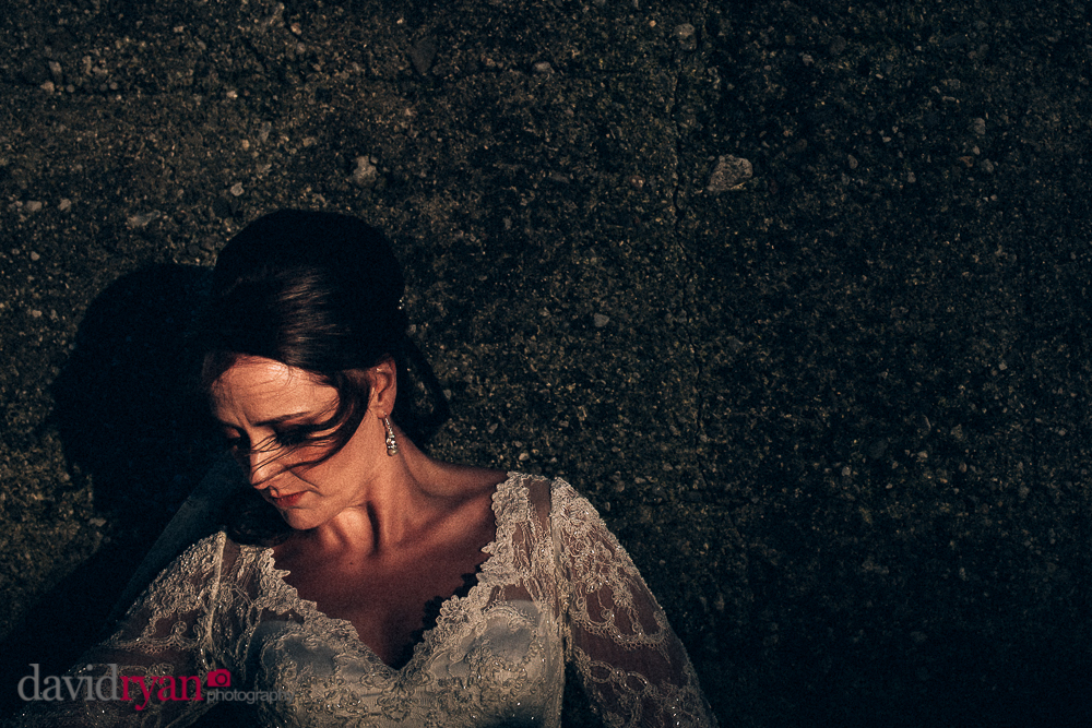 bridal portrait in galway