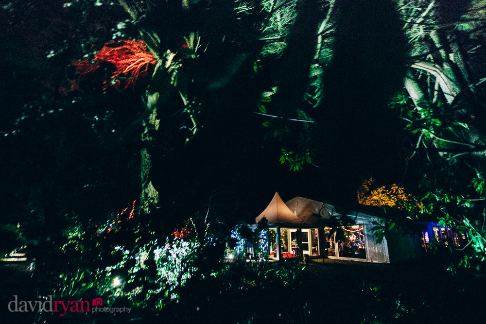 tinakilly country house wedding venue the marquee by night