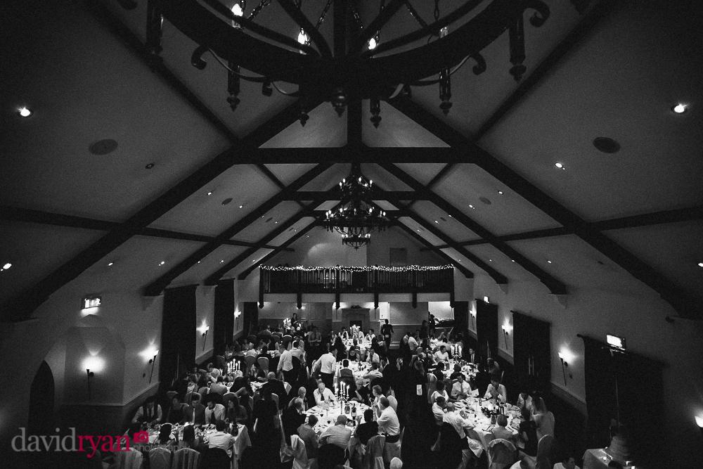 brooklodge wedding venue dining hall wedding