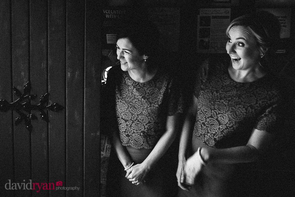 the bridesmaids at st michael church rathdrum