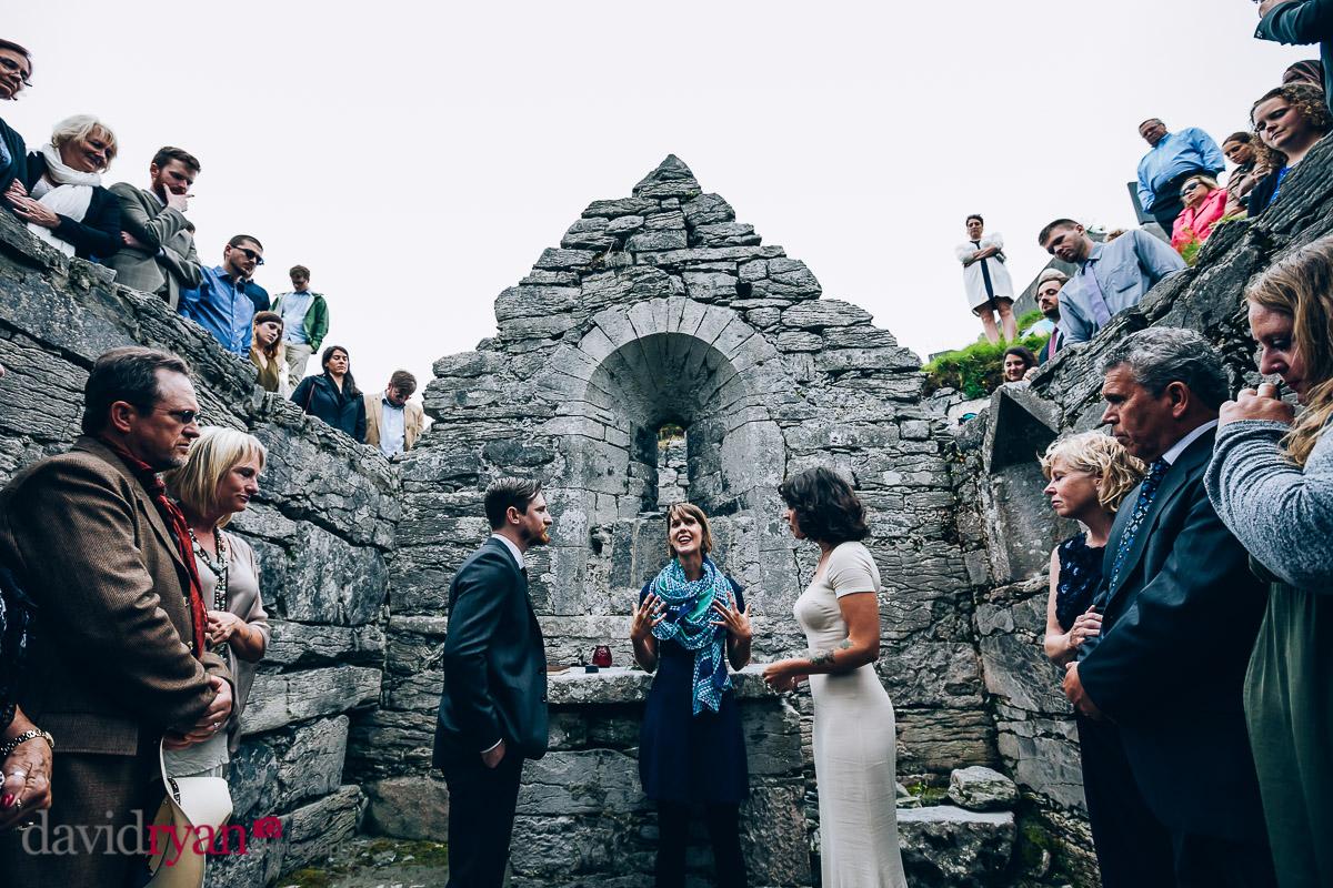 wedding ceremony inis oirr
