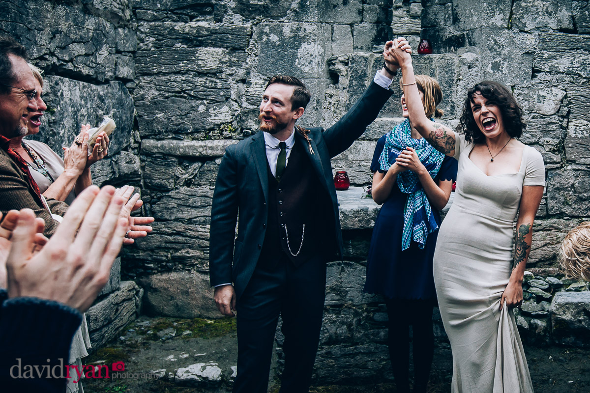 just married on inis oirr