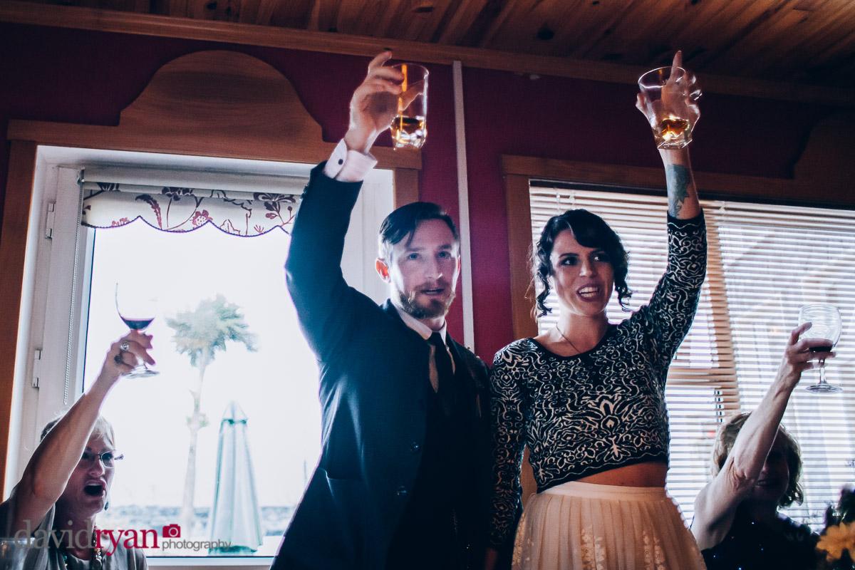wedding toast on inis oirr
