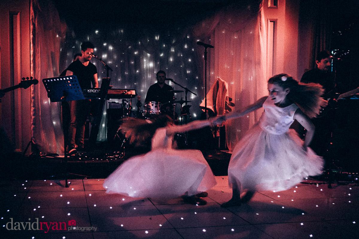 children dancing on dance floor