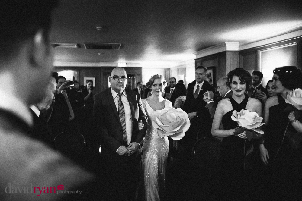 a civil ceremony at rathsallagh house