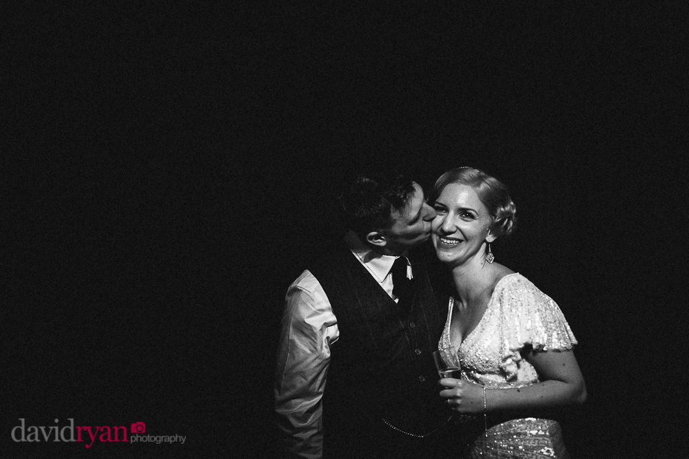 the bride and groom at rathsallagh house