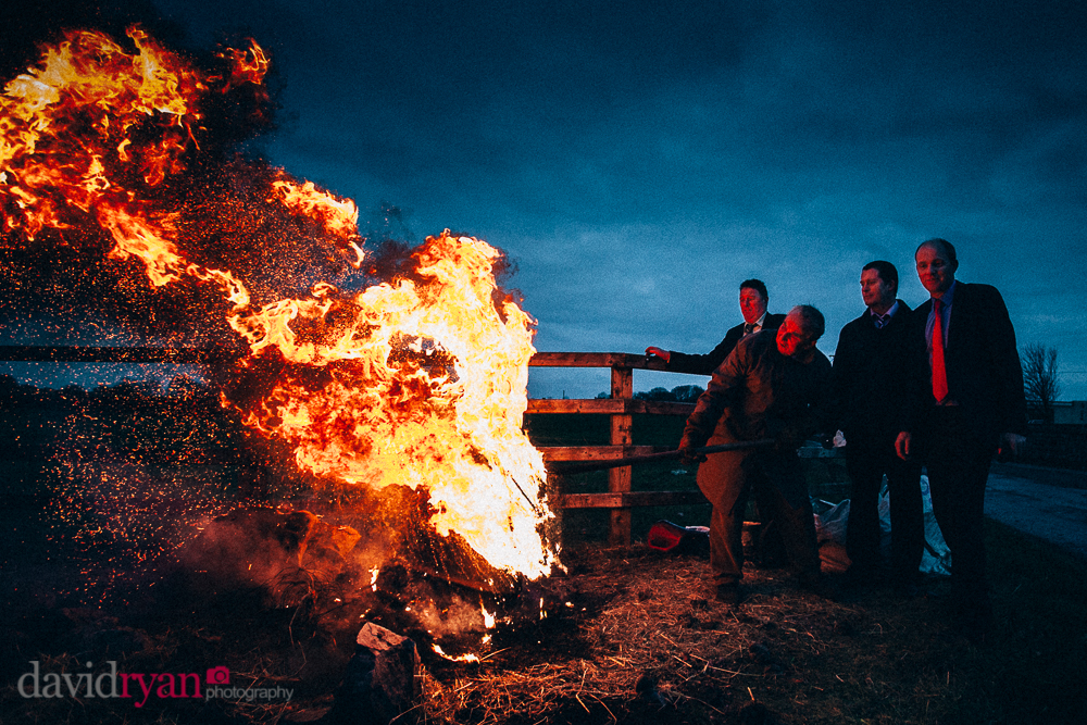 wedding bonfires in co. galway tradition