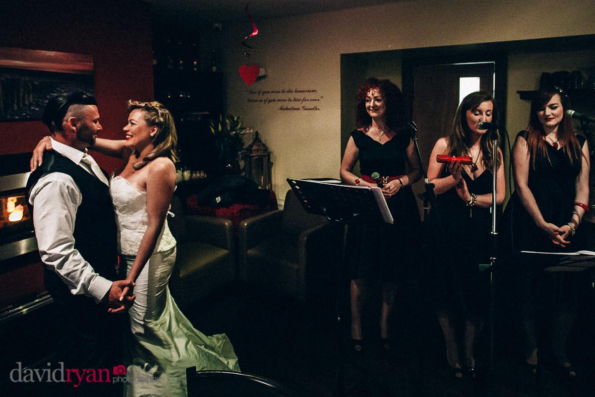 the first dance at dublin wedding