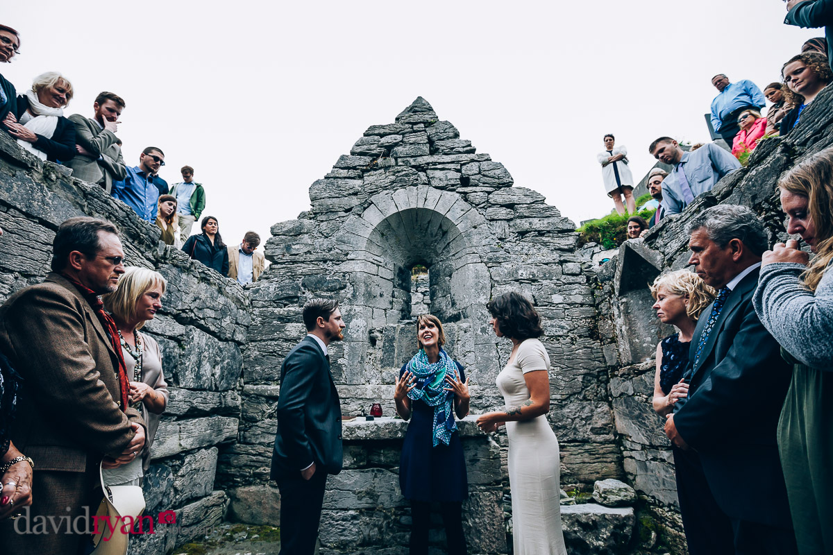 wedding ceremony inis oirr