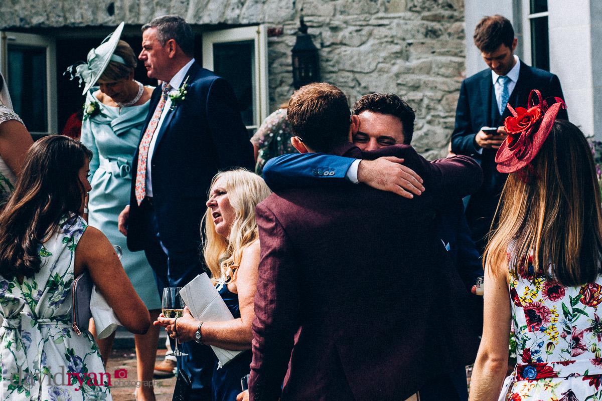 groom gets big hug at virginia park lodge