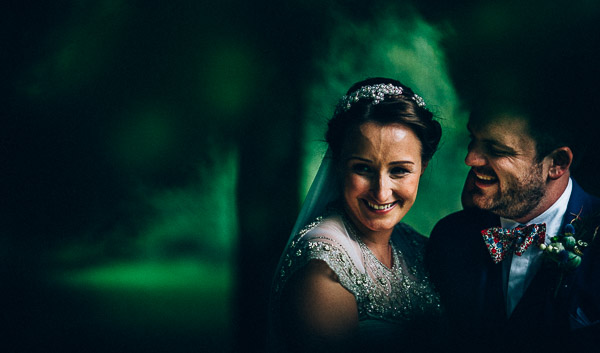 the bride and groom at virginia park lodge wedding ceremony