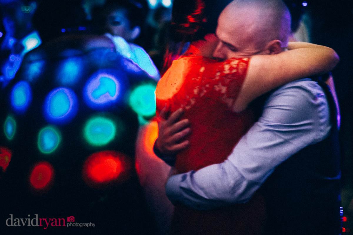 couple dancing on dancefloor