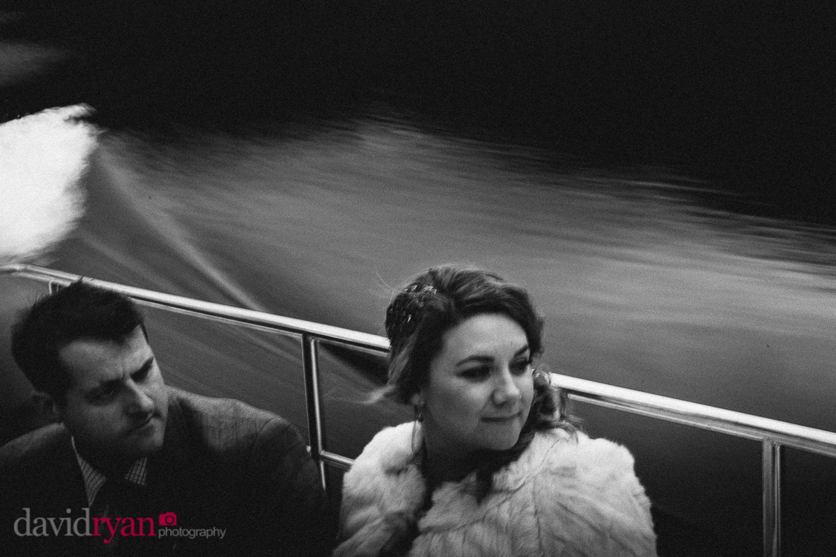 two people on a boat